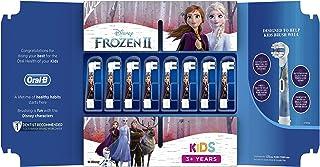 Oral-B Kids Opzetborstels Met Disney Frozen 2-figuren, 8 Stuks Brievenbusverpakking