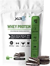 XLR8 Whey Protein with 24 g protein, 5.4 g BCAA - 2 lbs / 907 g (Cookies & Cream Flavour)