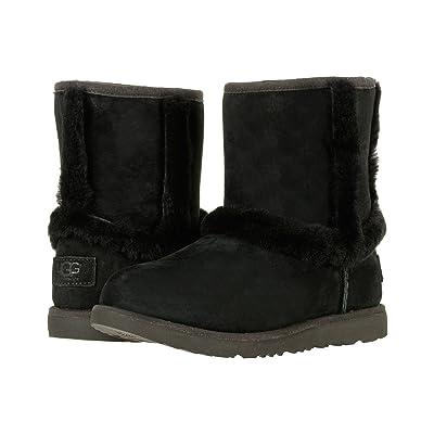 UGG Kids Hadley II Waterproof (Toddler/Little Kid/Big Kid) (Black) Girls Shoes