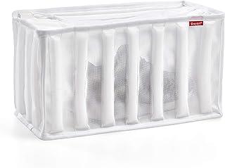 Rayen Lavadora y Secadora lavandería para Calzado   Bolsa Protectora Reutilizable para el Lavado de Zapatos   34 x 16 x 19 cm, Blanco