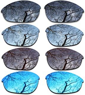 ToughAsNails Set of 4 Polarized Replacement Lenses for Oakley Half Jacket Pack-BSBI1