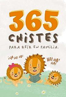365 chistes infantiles. Chistes para leer en familia. Ideal para hacer un regalo original para niños. Letra de palo.: Un l...