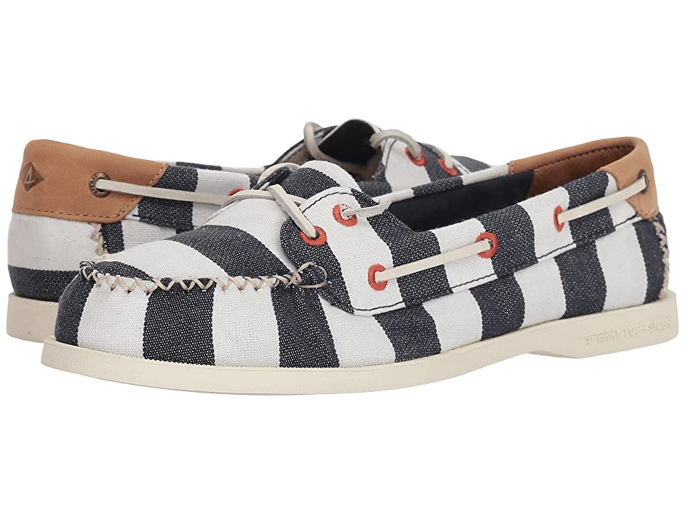 Sperry A/O Venice Canvas (Navy/White) Women