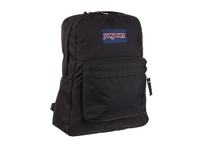 JanSport SuperBreak(r) (Black) Backpack Bags