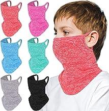 girl baby bloody handkerchief summer headband hand knitted cotton child scarf Bandana size 1224 months accessory pinkwhite