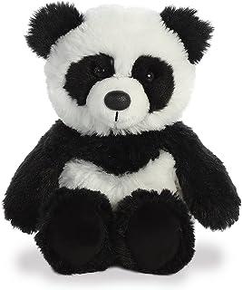 "Aurora - Cuddly Friends - 8"" Panda White/Black"