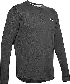 Men's UA Waffle Henley Shirt Long Sleeve