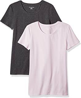 Women's 2-Pack Classic-Fit Short-Sleeve Crewneck T-Shirt