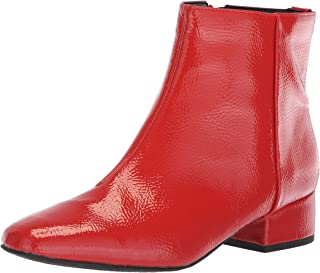 78b47874 Circus by Sam Edelman Women's Lyndsey Fashion Boot, Candy red Crinkled  Patent, ...