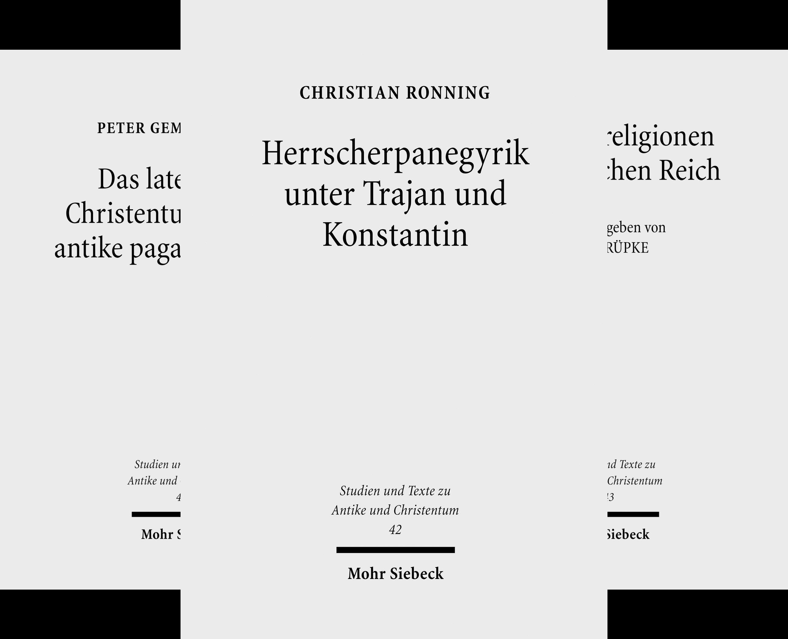 Studien und Texte zu Antike und Christentum /Studies and Texts in Antiquity and Christianity (Reihe in 50 Bänden)