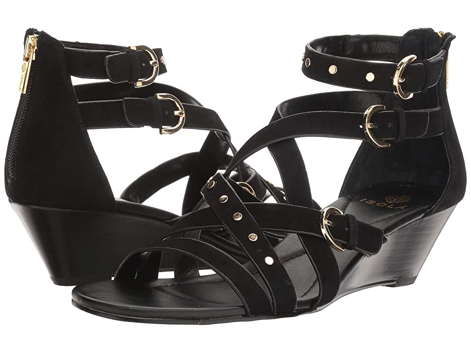 Isola Petra (Black King Suede) Women
