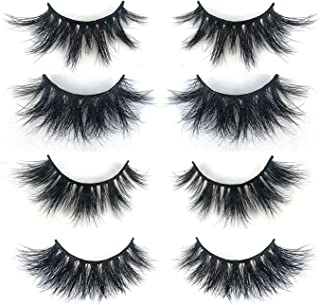 Mikiwi 3D Mink Lashes, Mink Lashes, Real Mink Lashes, Dramatic Eyelashes, Mink Lashes Strip, 5D Mink Lashes, Whosesale Mink lashes, Pack-4