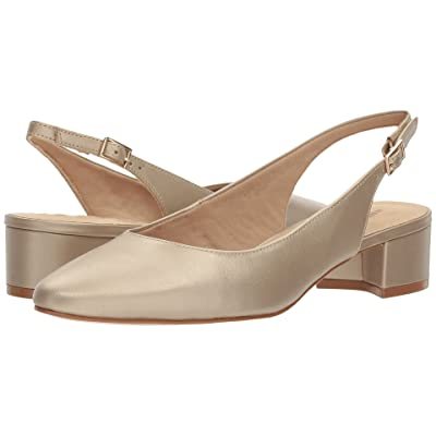 Walking Cradles Hazel (New Gold Soft Metallic Leather) Women