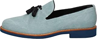 DI MELLA Loafer Flats Mens Turquoise