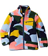 Stella McCartney Kids - Color Block Teddy Jacket (Little Kids/Big Kids)