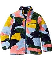 Stella McCartney Kids - Color Block Teddy Jacket (Little Kids/Big Kids)