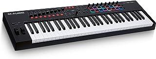 M-Audio Oxygen Pro 61 Keyboard USB Keyboard Controller with Beat Pads ، MIDI قابل تنظیم ، دکمه ها