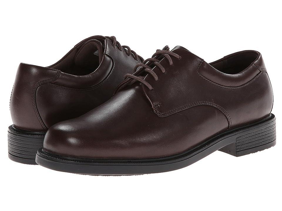 Rockport Big Bucks Margin (Chocolate Leather) Men's Dress Flat Shoes