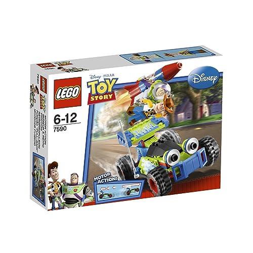 LEGO - 7590 - Jeu de Construction - Toy Story - La Course en Voiture de Buzz et Woody