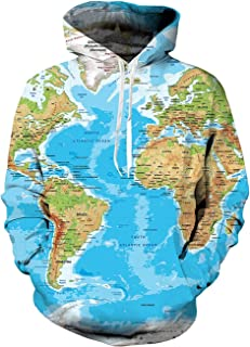 Best world map hoodie Reviews