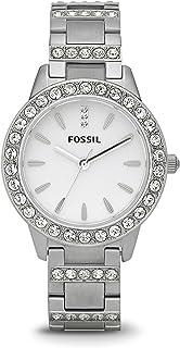 Fossil Women's Jesse Stainless Steel Glitz Dress Quartz Watch