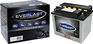 EverLast CB7C-A 12V Conventional Battery with Acid Pack (5 3/16 L X 3 5/8 W X 4 9/16 H)
