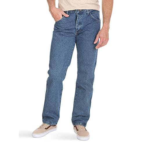 db234236 Wrangler Authentics Men's Classic 5-Pocket Regular Fit Jean