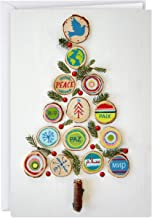 Hallmark UNICEF Boxed Christmas Cards, Peace Tree (12 Cards and 13 Envelopes)