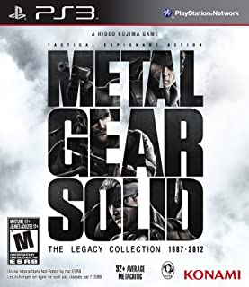METAL GEAR SOLID THE LEGACY COLLECTION 1987-2012