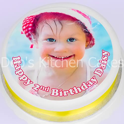 Picture Sugar Icing Cake Topper Decoration Your Own Personalised Edible Photo