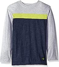 U.S. Polo Assn. Boys' Long Sleeve Striped Crew Neck T-Shirt