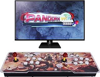 Ai CAR FUN [3333 Games in 1] Arcade Game Console WiFi Function Full HD Retro Video Arcade Game Console 2 Players 3D Pandor...