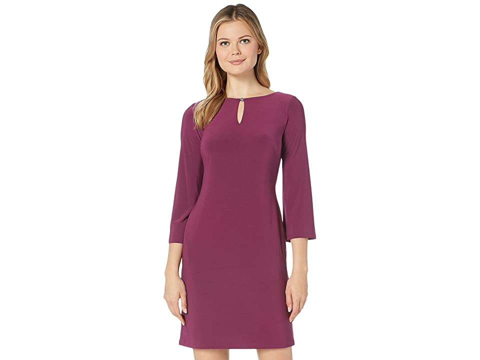 LAUREN Ralph Lauren Monahan Dress (Exotic Ruby) Women