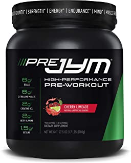 Pre JYM Pre Workout Powder - BCAAs, Creatine HCI, Citrulline Malate, Beta-Alanine, Betaine, and More   JYM Supplement Scie...