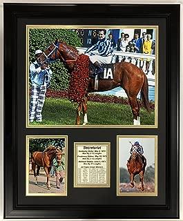 Legends Never Die Secretariat Kentucky Derby Framed Double Matted Photos, 18