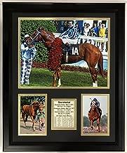 """Legends Never Die Secretariat Kentucky Derby Framed Double Matted Photos, 18"""" x 22"""""""
