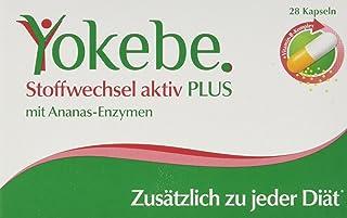 Yokebe Plus Stoffwechsel Aktiv Kapseln, unterstützen den Stoffwechsel, hochdosierter..