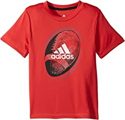 adidas Kids - Optic Sport Ball Tee (Toddler/Little Kids)