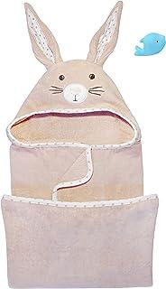 BREATHABLE CUTE BABY RABBIT CARTOON SOFT BATH FEEDING TOWEL WASHCLOTH  SMART