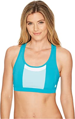 Solution Dye Color-Block Bra