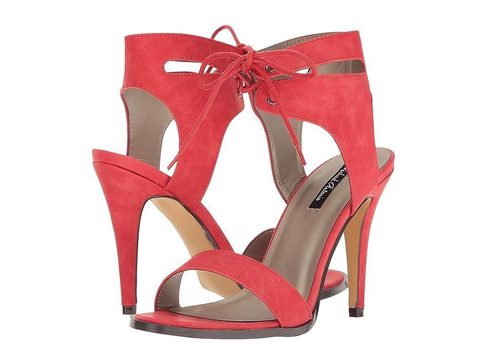 Michael Antonio Lines (Red Nubuck PU) High Heels