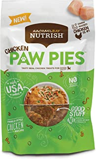 Rachael Ray Nutrish Chicken Paw Pies Real Meat Dog Treats, Family Style Chicken Recipe, 3 Ounces (Pack of 8)