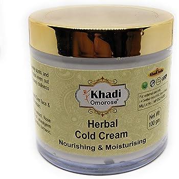 Khadi Omorose Herbal Cold Cream (with shea butter, aloe vera extract) 100 gm