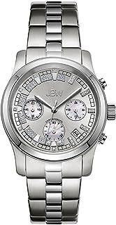 JBW Luxury Men's Delano 22 Diamonds Chronograph Metal Watch