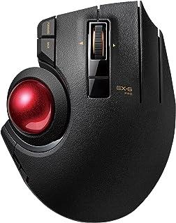 エレコム トラックボールマウス 【3年保証】有線/無線/Bluetooth 3種の接続方式対応 親指 8ボタン チルト機能 ブラック M-XPT1MRXBK