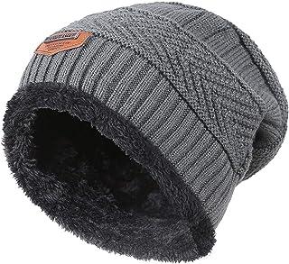 King Star Men Beanies Hat Winter Thick Warm Knit Skull Cap