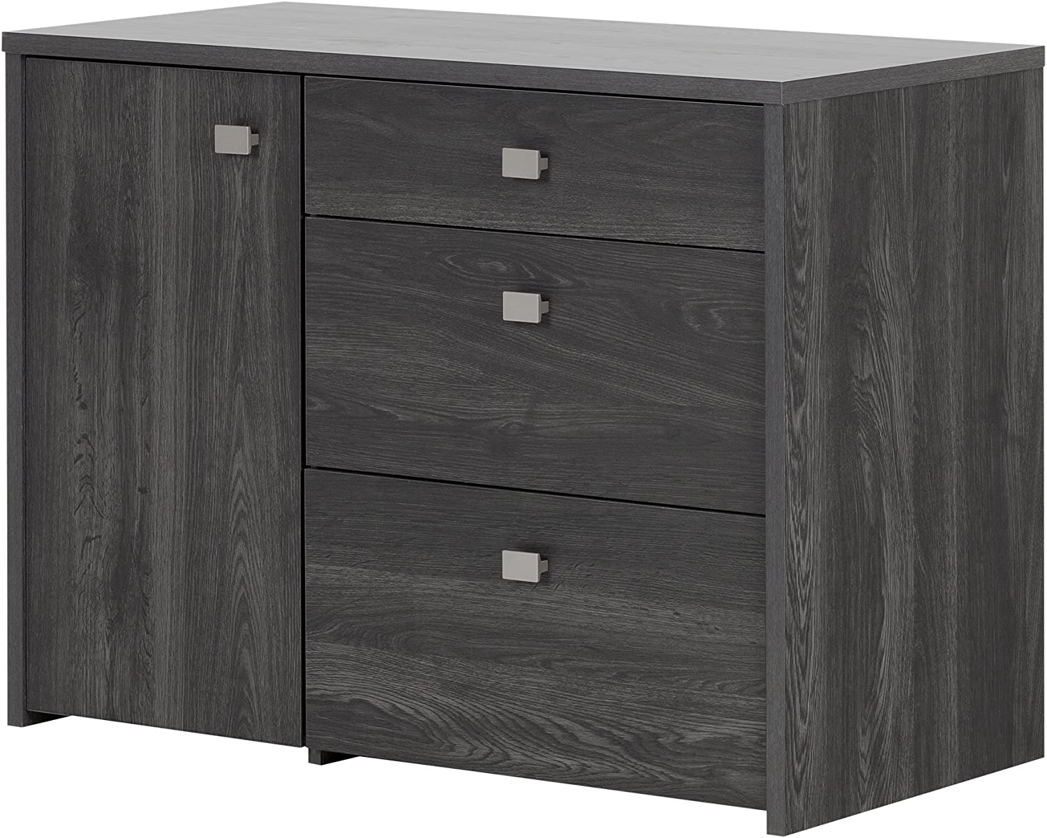 South Shore 1-Door Office Storage Unit Gray with Manufacturer OFFicial shop File Drawer Oa Max 63% OFF