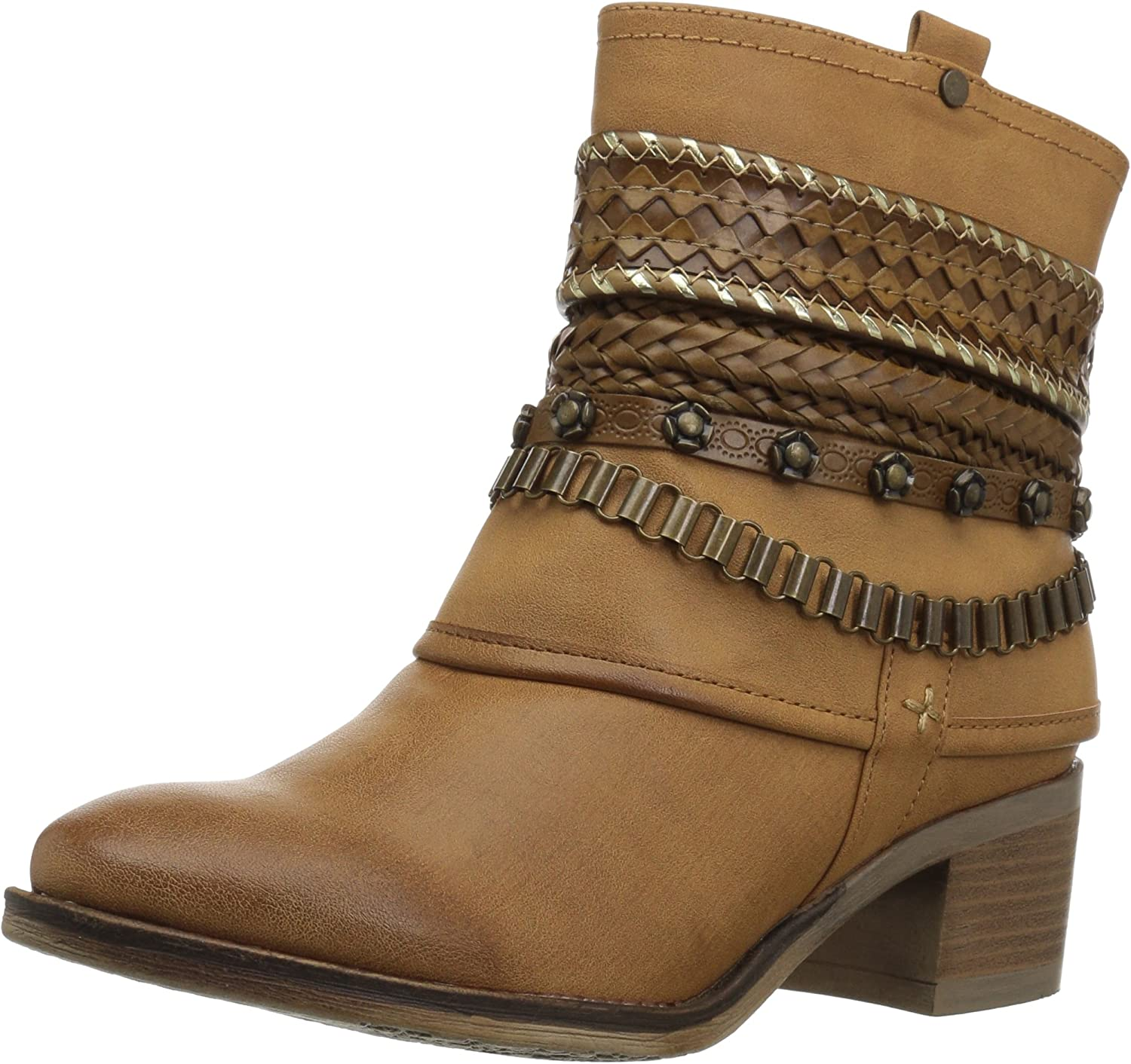 Carlos by Carlos Santana Womens Cole Ankle Boot