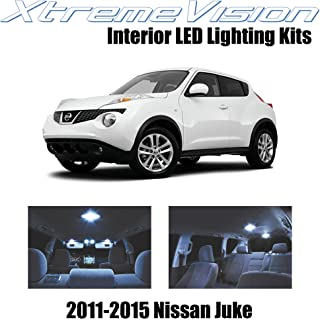 XtremeVision Interior LED for Nissan Juke 2011-2015 (6 Pieces) Cool White Interior LED Kit + Installation Tool