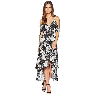 Bardot Frankie Frill Dress (Ink Floral) Women